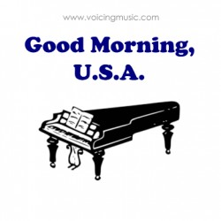 Good Morning, U.S.A. - piano