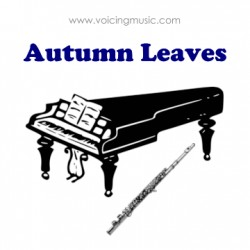 Autumn Leaves - piano / flûte