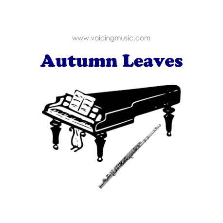 Autumn Leaves - downloadable instrumental version