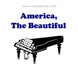 America The Beautiful - piano
