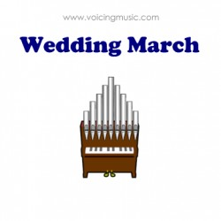 Wedding March - organ