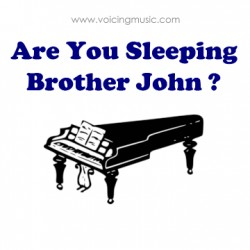 Are You Sleeping Brother John ? - piano