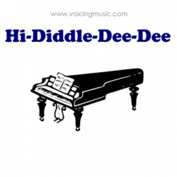 Hi-Diddle-Dee-Dee (An Actor's Life For Me) - piano