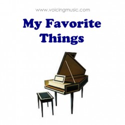 My Favorite Things - harpsichord