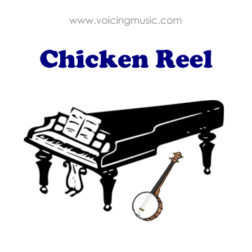 Chicken Reel - piano / banjo