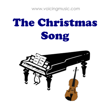 The Christmas Song - piano / violon