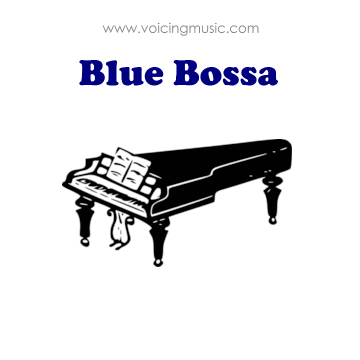 Blue Bossa - piano