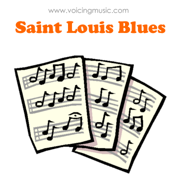 Saint Louis Blues - partition